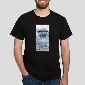"""Change is not..."" Barack Oba Dark T-Shirt"