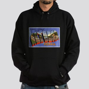 Altoona Pennsylvania Greeting Hoodie (dark)