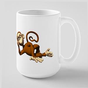 MONKEY FASHION Large Mug