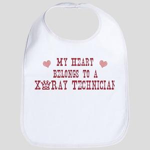Belongs to X-Ray Technician Bib
