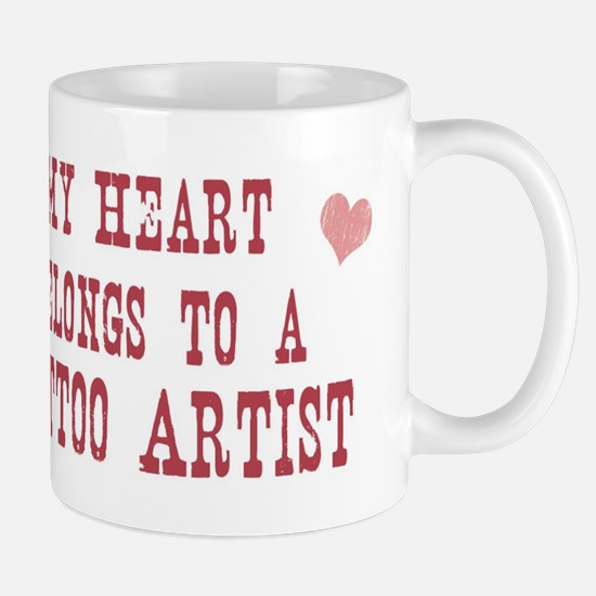 Belongs to Tattoo Artist Mug