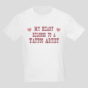 Belongs to Tattoo Artist Kids Light T-Shirt