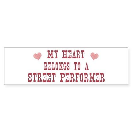 Belongs to Street Performer Bumper Sticker