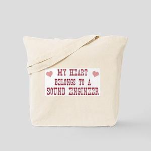 Belongs to Sound Engineer Tote Bag