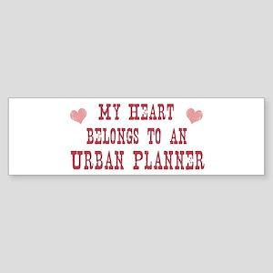 Belongs to Urban Planner Bumper Sticker