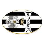 Joe Public FC Oval Sticker
