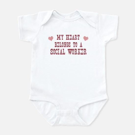 Belongs to Social Worker Infant Bodysuit