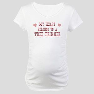 Belongs to Tree Trimmer Maternity T-Shirt