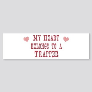 Belongs to Trapper Bumper Sticker