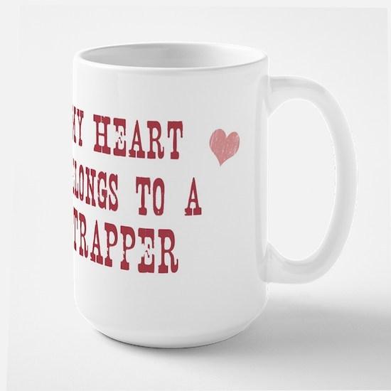 Belongs to Trapper Large Mug