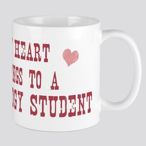 Belongs to Psychology Student Mug
