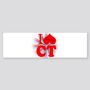 I No Heart Connecticut Bumper Sticker (10 pk)