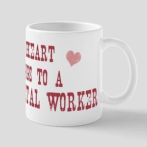 Belongs to Sheet Metal Worker Mug