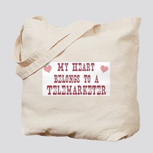 Belongs to Telemarketer Tote Bag
