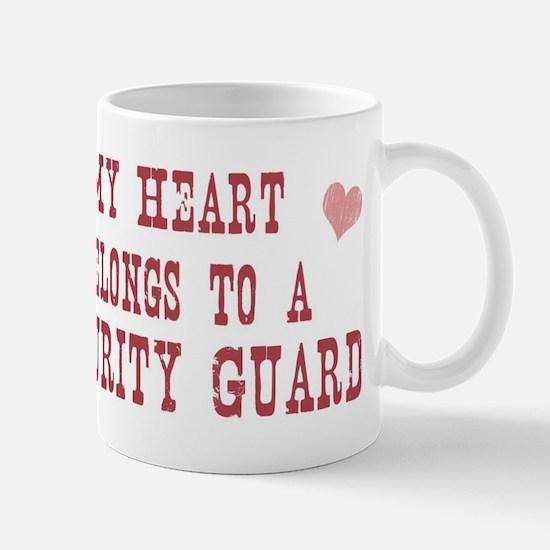 Belongs to Security Guard Mug
