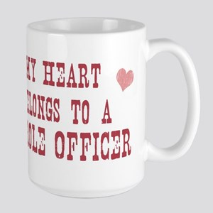 Belongs to Parole Officer Large Mug