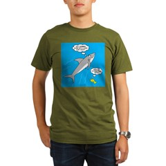 Shark Song Organic Men's T-Shirt (dark)