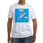 Shark Song Fitted T-Shirt