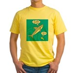 Shark Song Yellow T-Shirt