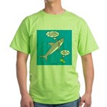 Shark Song Green T-Shirt
