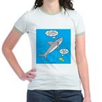 Shark Song Jr. Ringer T-Shirt