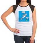 Shark Song Junior's Cap Sleeve T-Shirt