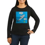 Shark Song Women's Long Sleeve Dark T-Shirt