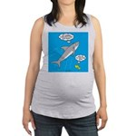 Shark Song Maternity Tank Top