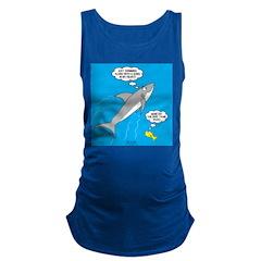 Shark Song Maternity Tank Top