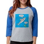 Shark Song Womens Baseball Tee