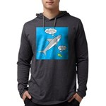 Shark Song Mens Hooded Shirt