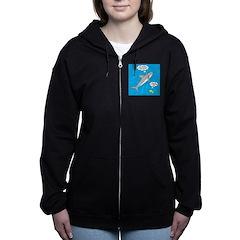 Shark Song Women's Zip Hoodie