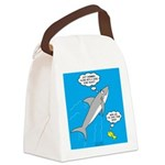 Shark Song Canvas Lunch Bag