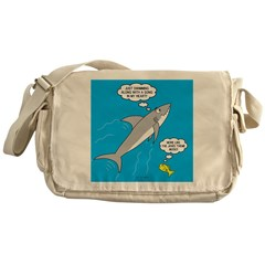 Shark Song Messenger Bag