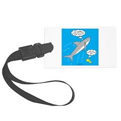 Shark Song Luggage Tag