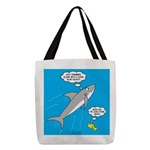 Shark Song Polyester Tote Bag