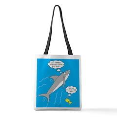 Shark Song Polyester Tote Bag