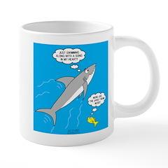 Shark Song 20 oz Ceramic Mega Mug