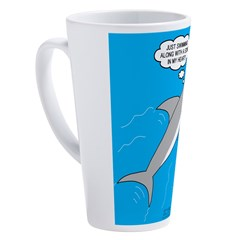 Shark Song 17 oz Latte Mug