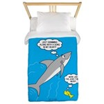 Shark Song Twin Duvet Cover