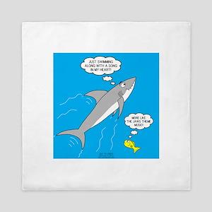 Shark Song Queen Duvet
