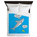 Shark Song Queen Duvet