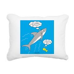 Shark Song Rectangular Canvas Pillow