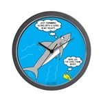 Shark Song Wall Clock