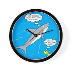 Shark Song Wall Clock