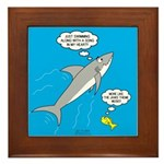 Shark Song Framed Tile