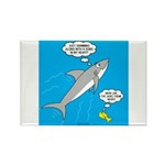 Shark Song Rectangle Magnet (100 pack)