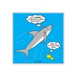 Shark Song Square Sticker 3