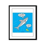 Shark Song Framed Panel Print