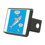 Shark Song Rectangular Hitch Cover